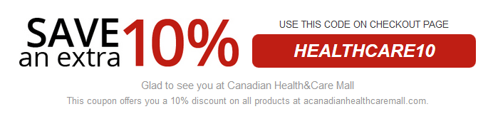 Canadian Health and Care Mall Saving Offer