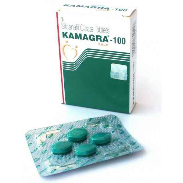 Kamagra Gold 100mg, Sildenafil generic from India