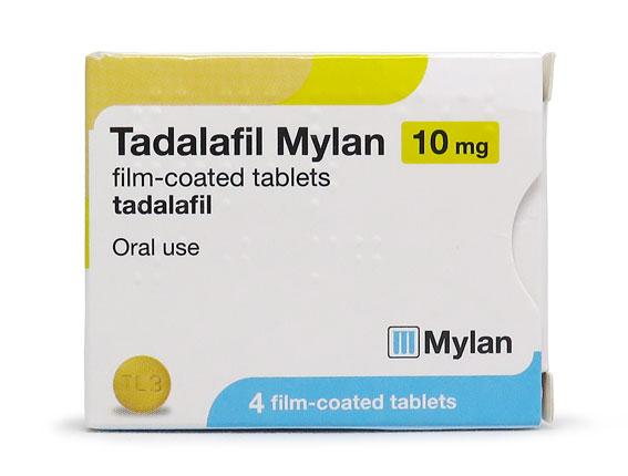 The initial dose of Tadalafil is usually 10 mg per day